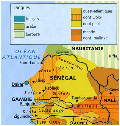 Ethnic groups and religions in Senegal