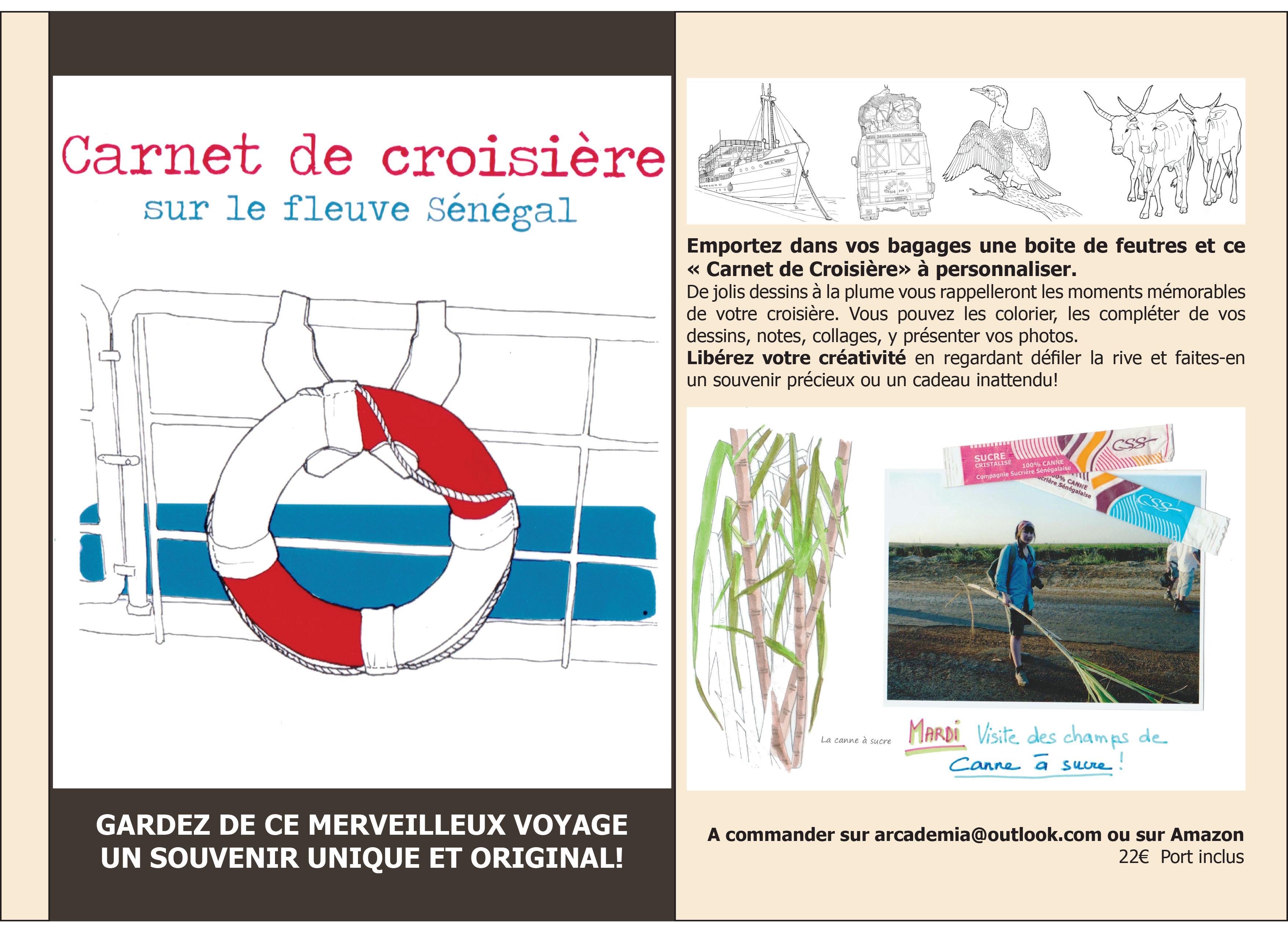 Carnet de Croisière sur le Fleuve Sénégal