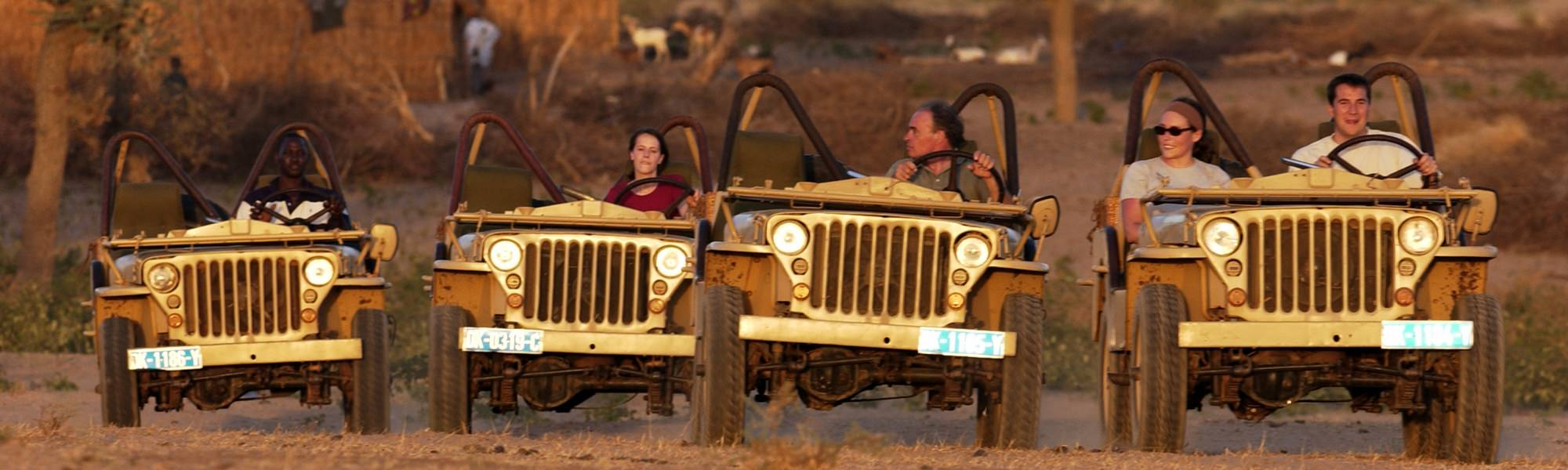Jeep Willys Senegal Bou el Mogdad