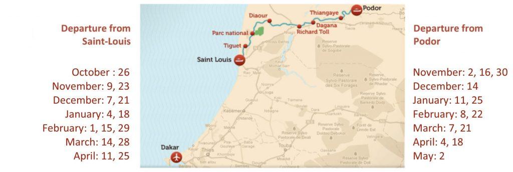 Saint Louis Calendrier.The Cruise Of The Bou El Mogdad Bou El Mogdad